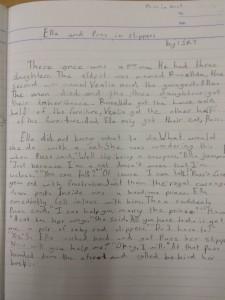 Fourth grade writing